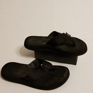Teva slide flops women's shoes size 7